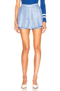 Maggie Marilyn  MAGGIE MARILYN SAY YOU'LL NEVER LET ME GO BLUE SKORT IN BLUE,PLAID