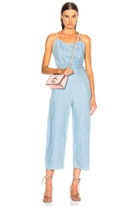 Mother Spaghetti Strap Jumpsuit - Blue