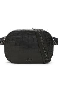 Leathercamera Bag in Black