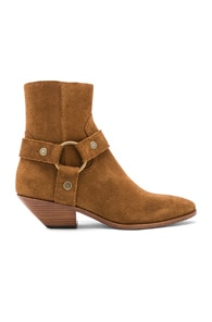 West Harness Boots in Brown