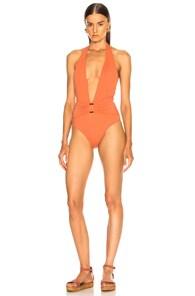 SAND & BLUE Sand & Blue Mia Swimsuit In Orange
