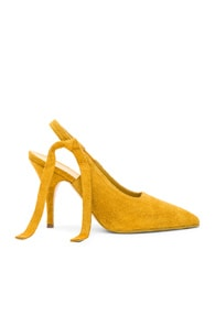 Dorothy Slingback Pumps in Yellow