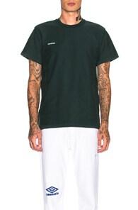VETEMENTS Vetements - Inside Out Cotton Jersey T Shirt - Mens - Green