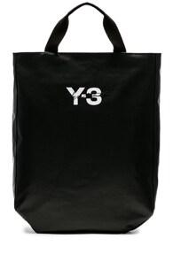 Adidas Y3 Backpack in Black