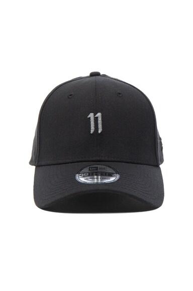 11 by Boris Bidjan Saberi Hat in Black & Reflective
