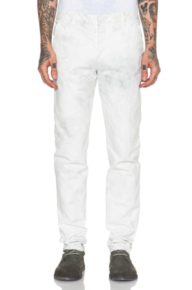 1.61 FB Chinos in White