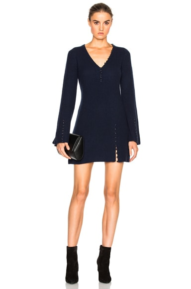 Asymmetrical Sweater Dress