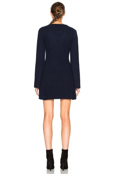 Asymmetrical Sweater Dress