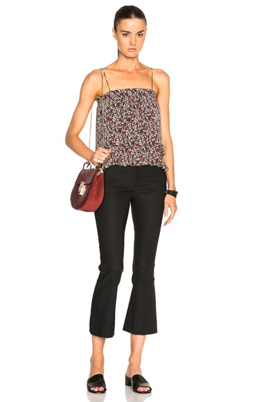Pleated 2 In 1 Top
