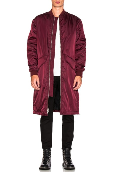MA-1 Back Strap Coat