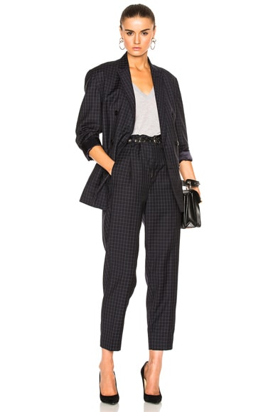 Lightweight Wool Suiting Blazer