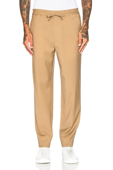 3.1 phillip lim Classic Tapered Trousers in Camel