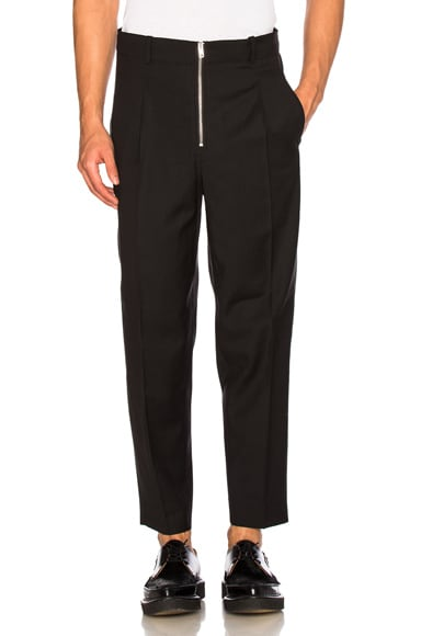 3.1 phillip lim Lightweight Wool Suiting Trousers in Black