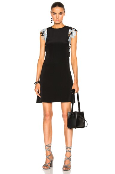 3.1 phillip lim Guipure Lace Dress in Black