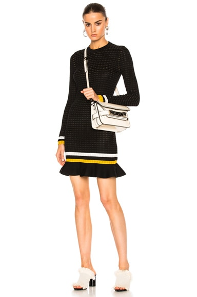 3.1 phillip lim Long Sleeve Dress in Black