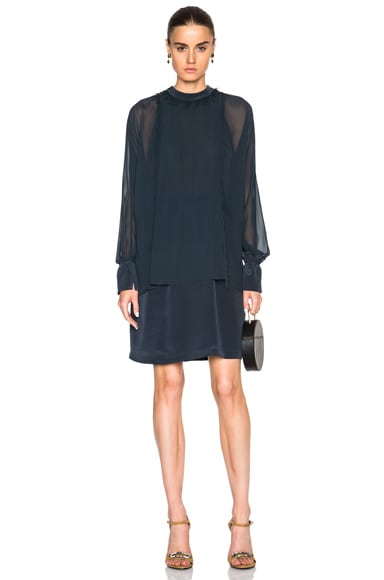 3.1 phillip lim Dolman Sleeve Dress in Slate