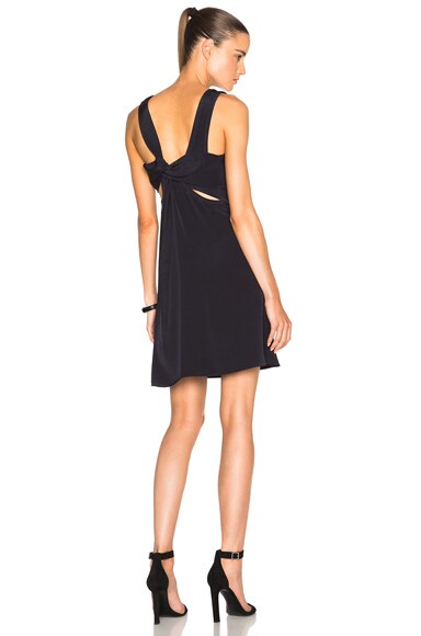3.1 phillip lim Overhand Knot Dress in Ink