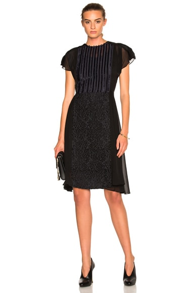 3.1 phillip lim Flared Dress in Navy
