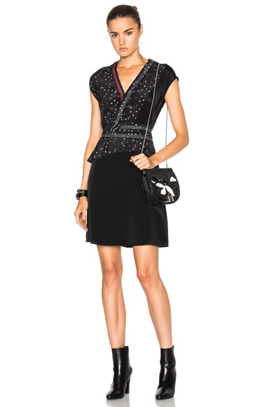 3.1 phillip lim Cascade Neckband Dress in Black