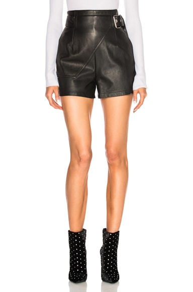 Leather Utility Short