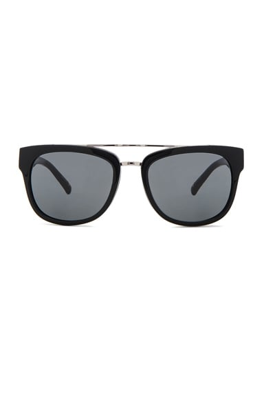 3.1 phillip lim Aviator Sunglasses in Black