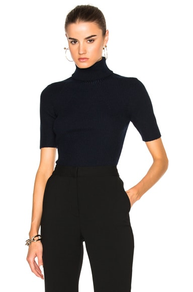 3.1 phillip lim Turtleneck Sweater in Sapphire