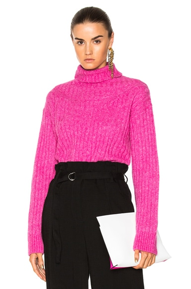 Rib Turtleneck Sweater