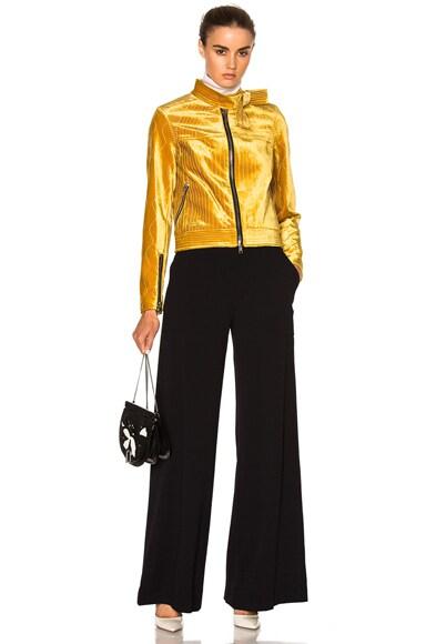 Velvet Moto Jacket
