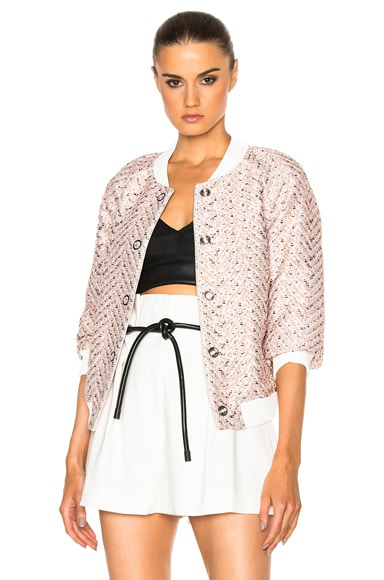 3.1 phillip lim Bomber in Alabaster