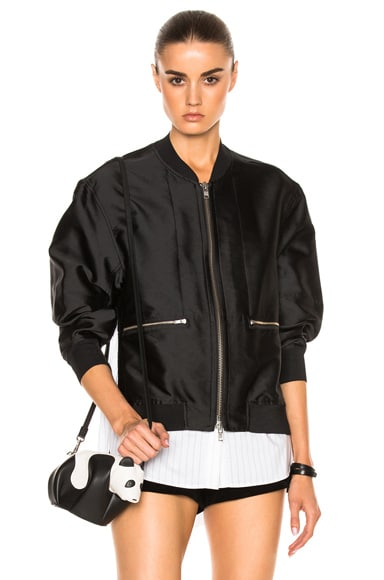 3.1 phillip lim Bomber Jacket in Black