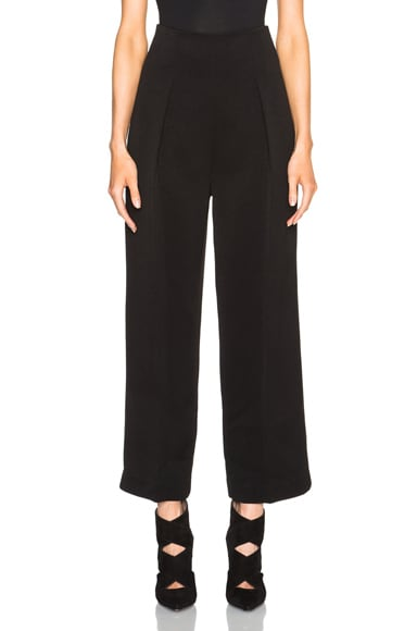 3.1 phillip lim Wide Leg Trousers in Black