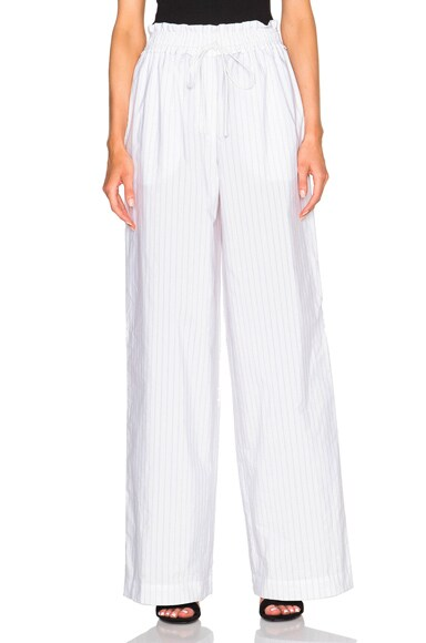 3.1 phillip lim Palazzo Pants in Antique White