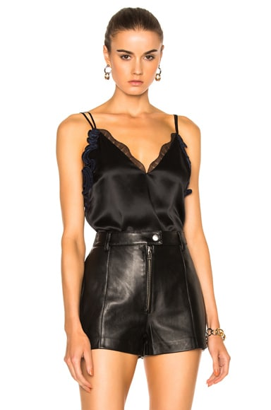 3.1 phillip lim Lace Slip Cami in Black