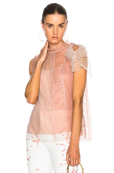 Lace Patchwork Top