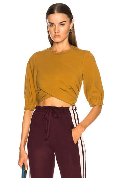 Twist Crop Top