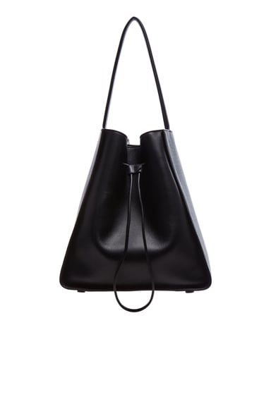 3.1 phillip lim Large Soleil Bucket Bag in Black