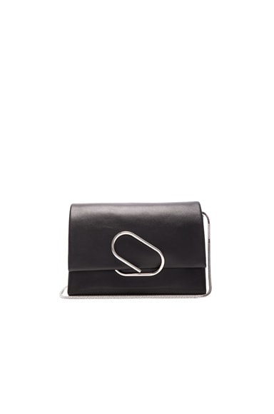 3.1 phillip lim Alix Soft Flap Clutch in Black