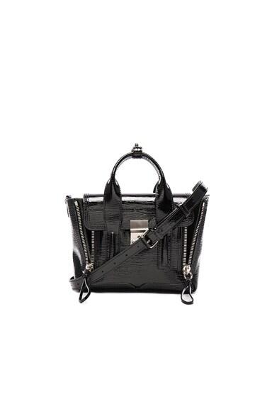 3.1 phillip lim Mini Pashli Bag in Black Patent