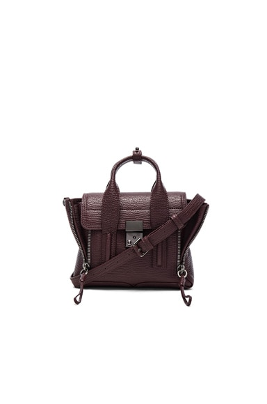 3.1 phillip lim Mini Pashli Bag in Blackcherry