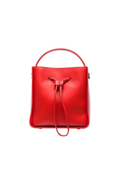 3.1 phillip lim Small Soleil Bucket Bag in Cherry