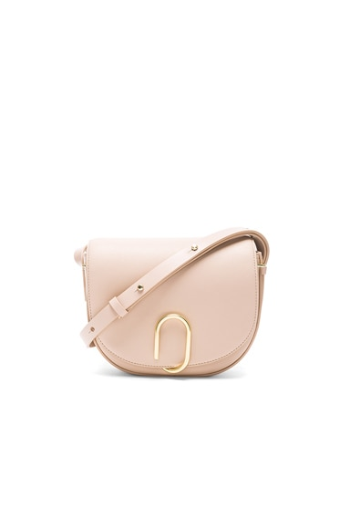 3.1 phillip lim Alix Saddle Crossbody Bag in Cashew