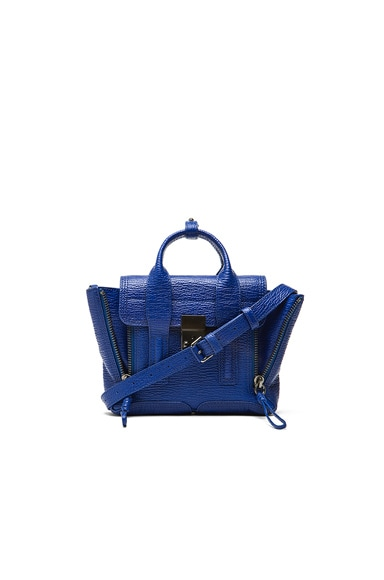 3.1 phillip lim Mini Pashli Satchel in Cobalt