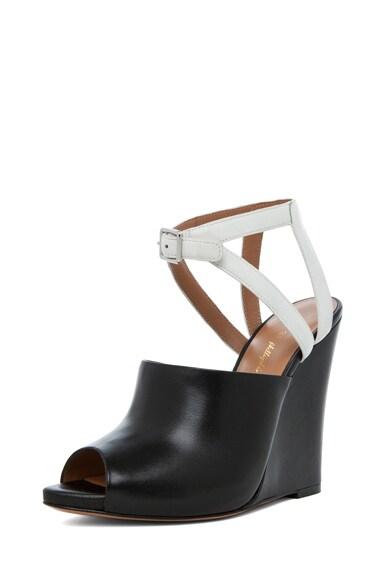 Juliette Leather Wedge