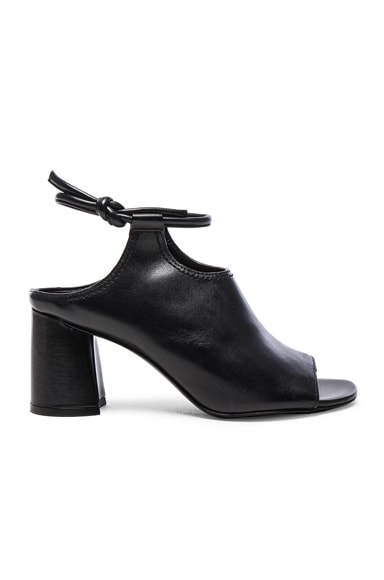 3.1 phillip lim Leather Drum Heels in Black