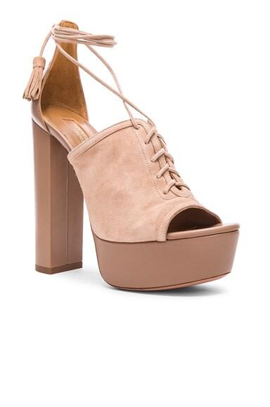 Suede Jac Platform Heels