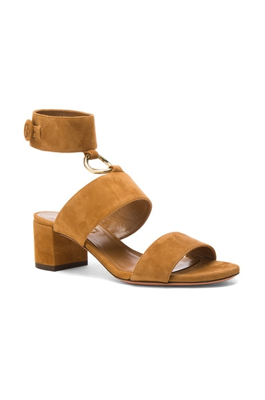 Suede Safari Sandals