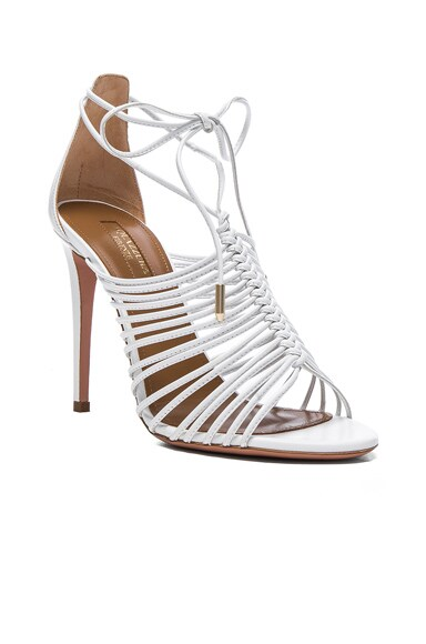Leather Nadja Heels