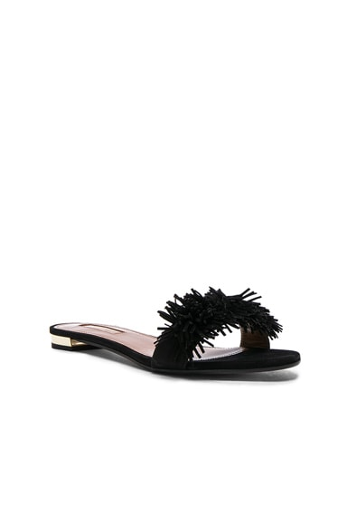 Suede Wild Thing Slide Flats