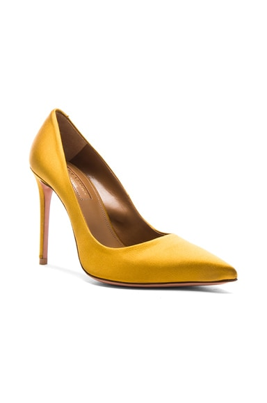 Satin Simply Irresistible Pumps