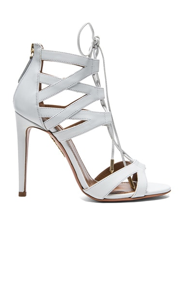 Beverly Hills Calfskin Leather Sandals